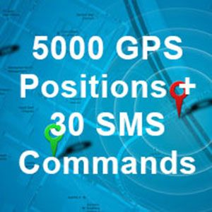 5000 GPS and 30 SMS Commands <br><br><br>