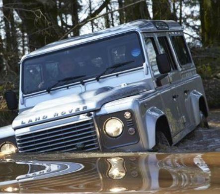 Defender Stolen and Recovered March 2018