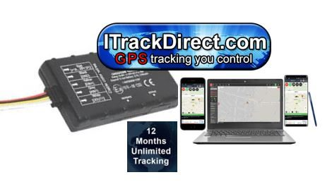 FleetTrack GPS Vehicle Tracker + 12 Months Tracking only £199.00