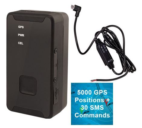 One Click Purchase ITrack2 GPS Tracker  / Hardwire Kit / 5000 GPS and 30 Commands PAYG Data