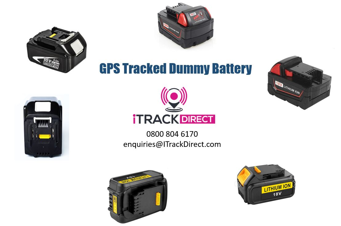 Replacement GPS Tracked Batteries