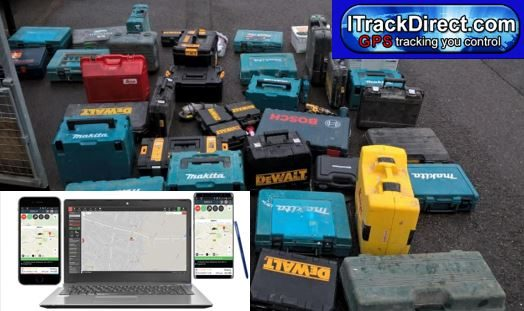 Stolen Tools recovered using GPS Tracking