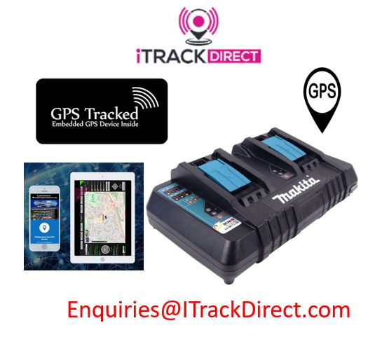 makita Charger GPS Tracked